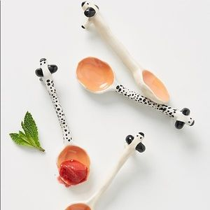 Sowie Sowie X Anthropologie set of four teaspoons